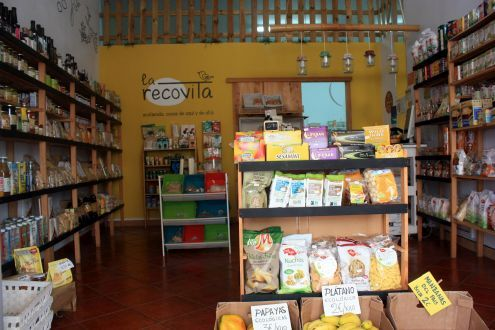 La Recovita organic products shop Los Silos in Calle Estrella 24.