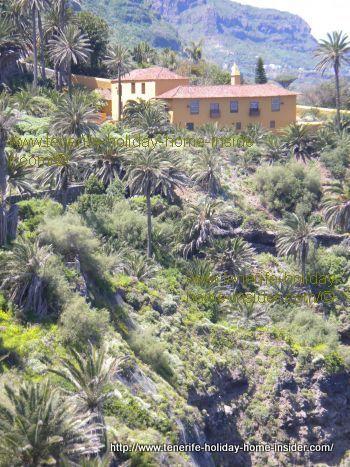 La Casona de los Castro of Los Realejos. That means a mansion and Hacienda.