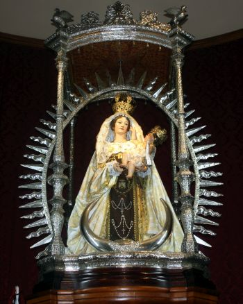 Lady of Mount Carmel shrine in Los Realejos.