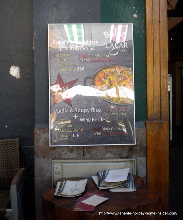 Lagar Paella special