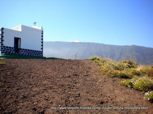 Last track to summit and Ermita de la Cruz