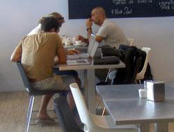 Library Cafe Coffee culture TEA Santa Cruz