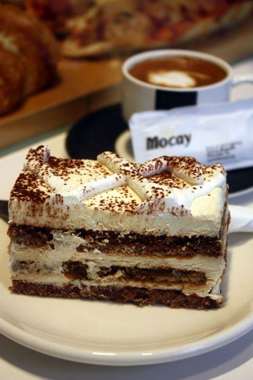 Light Tiramisu cake highly recommendable.