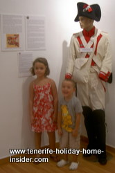 Little tourists at the Military Museum Tenerife