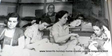 Famous Toscal Realejos sewing classes by Candelaria la Palmera