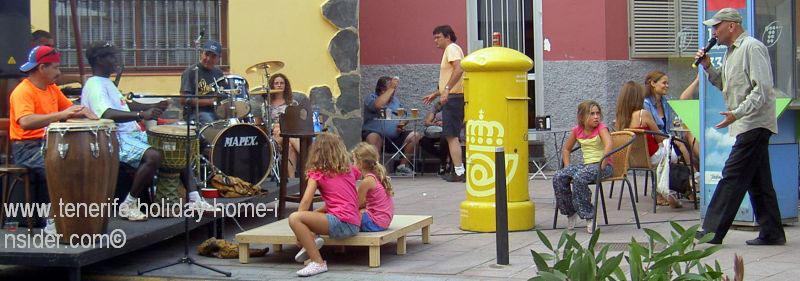 Longuera Street fair Toscal Realejos live music