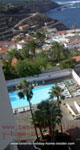 Los Realejos coast and apartment pool  seen from balcony