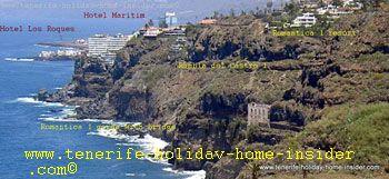 la Romantica coast with Rambla, and Hotels Maritim and San Roques