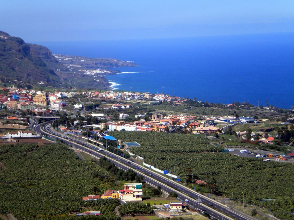 Los Realejos coastal view