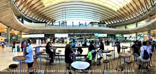 Los Rodeos the cozy Tenerife North airport where it's very easy to find what you need