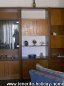 Large lounge cupboards