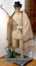 Man with sickle of battle Santa Cruz 1797.