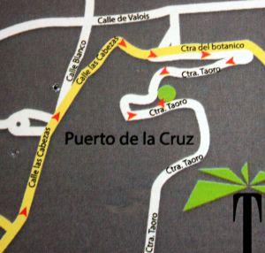 Map of Taoro Terrace restaurant