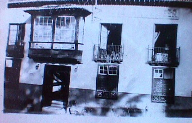 Marquesa Hotel Tenerife as captured on camera in black and white by Ivor Alexander's father in 1953.