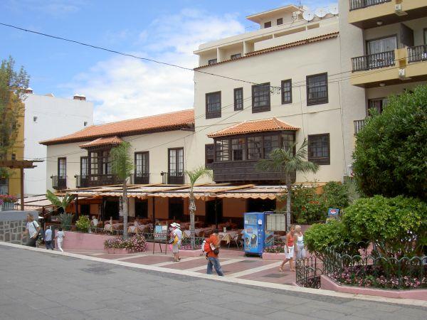 Marquesa Hotel Puerto de la Cruz Tenerife in the year 2002.