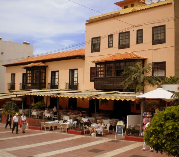 Marquesa Hotel as of 2008 in Tenerife.