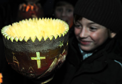 Martinsruebe Halloween Alternative ancient German traditions