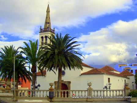 Matriz Santiago Apostol of Los Realejos in Tenerife Realejos