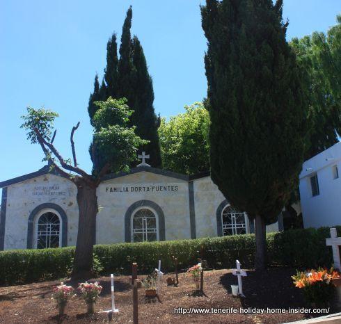 Mausoleo de Familia Dorta Fuentes historical Portuguese Tacoronte settlers