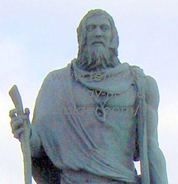 King Mencey Pelinor of Daute now Los Gigantes