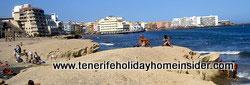 Miniature beaches Medano Tenerife