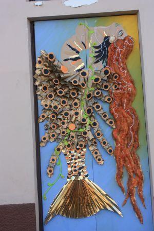 Modern art Water tale Illustration