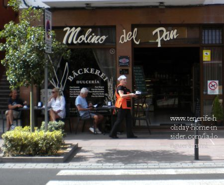 El Molino del Pan Bakery shop and Cafe also at house number 17