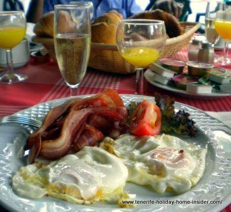 Monasterio champagne breakfast brunch