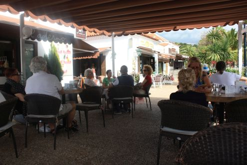 Most popular Puerto de la Cruz La Paz Cafe at the Canary Center.