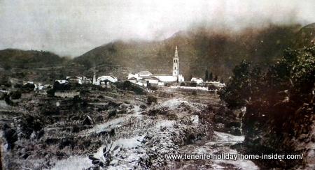 Mother church view seen from Casa de los Balcones of La Orotava