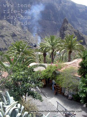 Mountain village Masca Tenerife Spain
