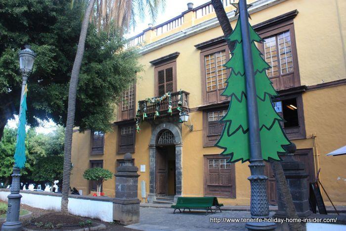 Museum Casa de los Caceres on Plaza de la Constitución number 1 nowadays a mansion with cultural center mainly.