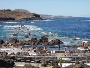 Nature pools Garachico by its Caleton