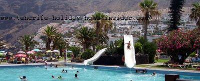 Natural swimming pools Lido Los Gigantes