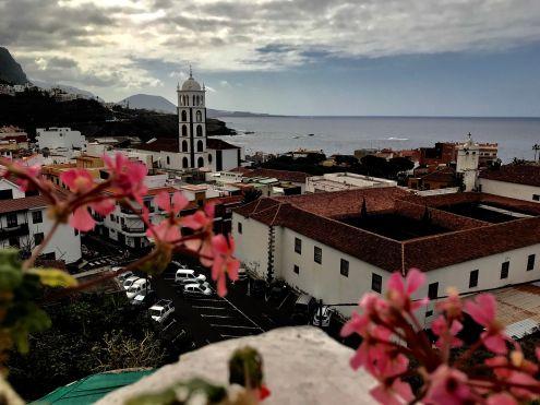 Northwest panorama of La Villa de Garachico as far as La Montaña de Taco of Buenavista del Norte in the far back.
