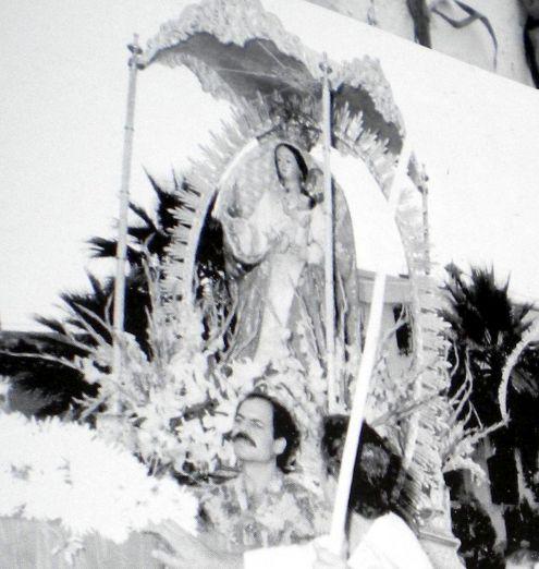 Nuestra Senora de Buen Viaje image of Street procession of important festival of 7 days.