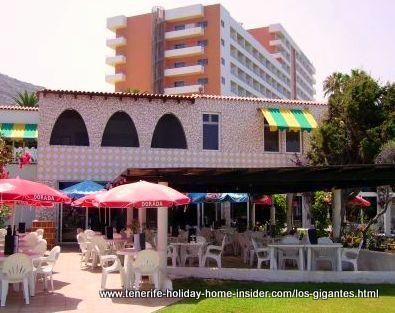 Oasis Park restaurant, bar and change rooms