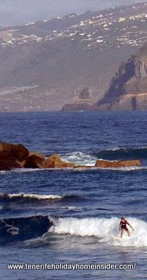 Ocean scenery at Martianez Tenerife