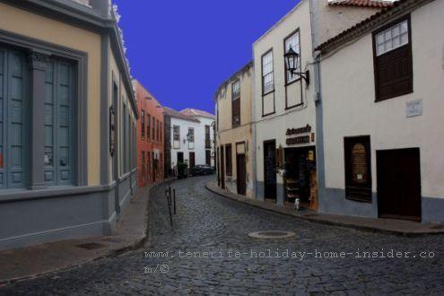 Old quarters Garachico by Playa Juan Gonzalez de la Torre by Puerta Tierra