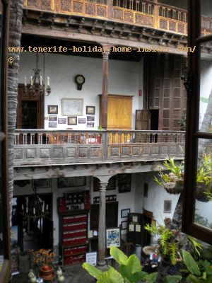 The Orotava Casa de Los Balcones a jam of carpentry of the finest in the World and much more