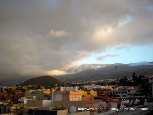 Orotava Valley weather Winter of February 2016