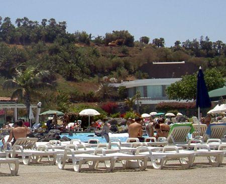 Palmetum Park at Santa Cruz in Tenerife