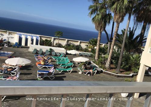 Pool garden Hotel Panoramica