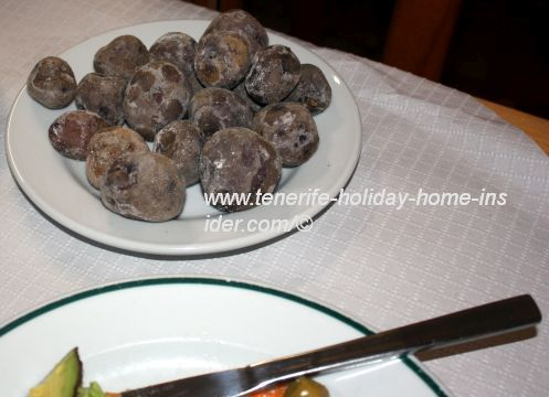 Papas Negras which were real Potatoes Bonitas that are the best