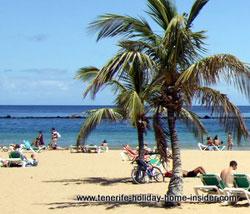 Parallel breakwater Santa Cruz Tenerife Teresitas