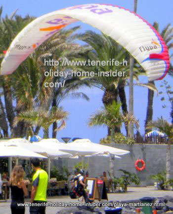 Parapenting or Tenerife paragliding