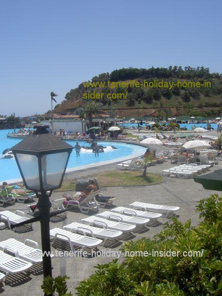 Parque Maritimo Cesar Manrique of Tenerife