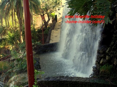 Parque Taoro falling waters main waterfall