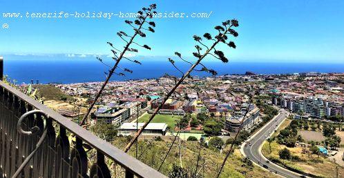 Part of Aguere now La Laguna and Santa Cruz the Tenerife capital
