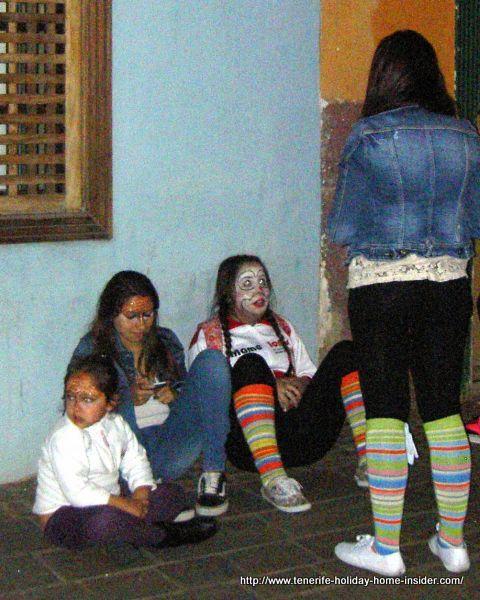 Party break in the fiesta street